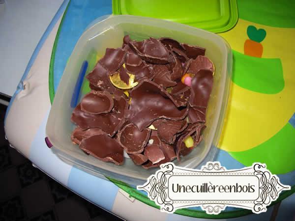 oeufs de paques en chocolat
