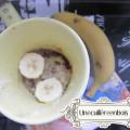 mug cake banane bounty