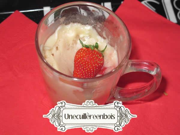 mug-cake fraise