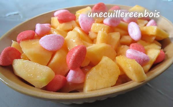 Melon à la fraise tagada