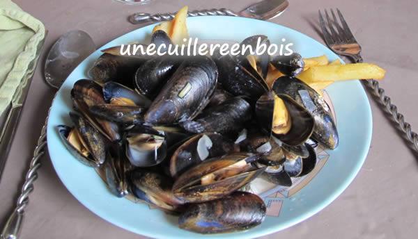recette de moules marinières
