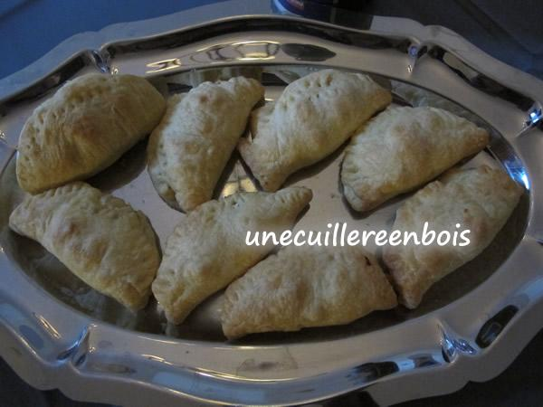 recette de chausson aux pommes et camembert