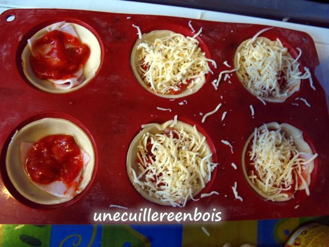 Mini pizzas recette facile - Recettes rapides 10 a 15 minutes maxi ...