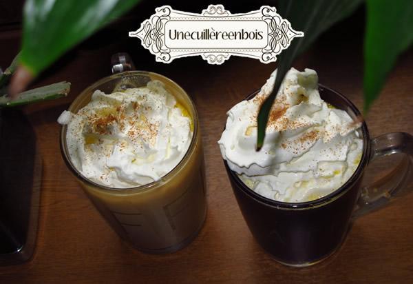 pumpkin spice latte recette
