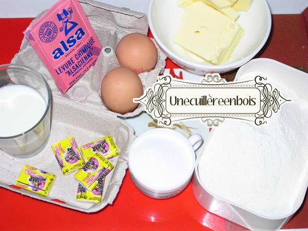 Gateau malabar recette