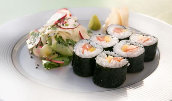 recette makis au saumon