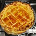 recette galette à la frangipane et aux pommes