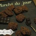 biscuits amandes chocolat croustillants moelleux