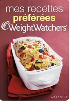 livre weight watchers mes recettes preferees