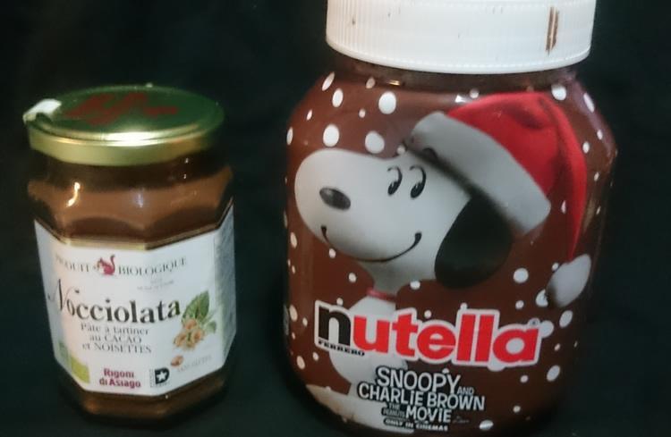 Duel des pâtes à tartiner : Nutella VS Nocciolata