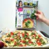 Pizza Vegétarienne aux légumes et Mozzarella Buffalo inspirée de MANGO & SALT