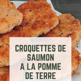 Recette : Croquettes de saumon à la pomme de terre #recette #food #croquette