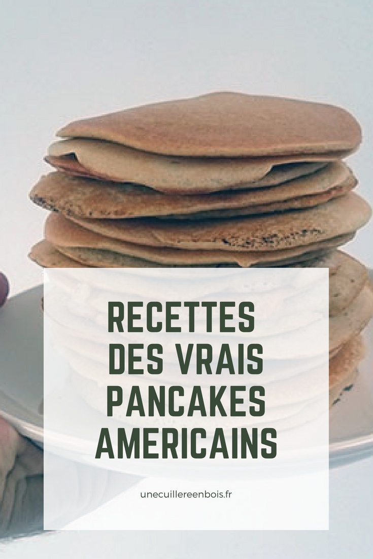 La véritable recette de Pancake à l'américaine #food #recette #pancake #petitdejeuner #breakfast
