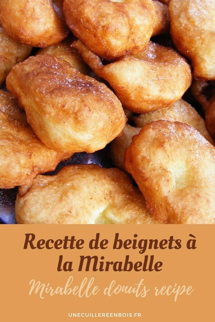 Recette de beignets à la Mirabelle