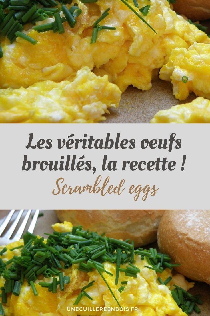 recette oeufs brouillés maison