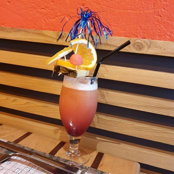 cocktail sans alcool orange citron ananas