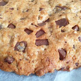 recette cookie geant