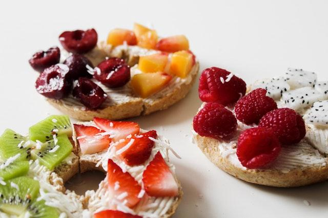 recette bagels fruits d'été