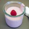 Verrines de yaourt aux fruits rouges