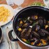 Moules frites au cidre comme en Bretagne